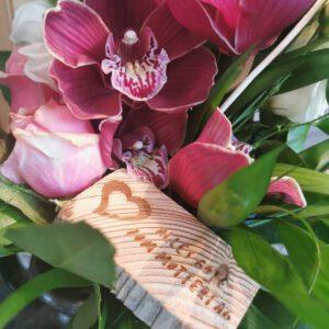 Individuelle Gestaltung von Blumensträußen